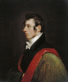 Self portrait by Samuel Morse